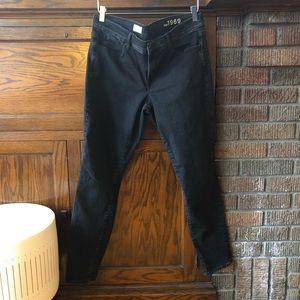 Gap legging jean black size 32